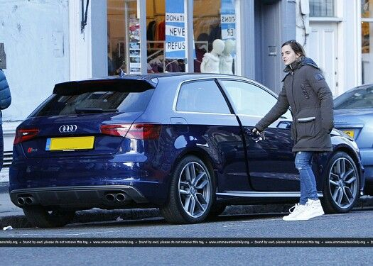 Emma Watson S Fleet Of Cars And The Whopping Figures To Insure Them
